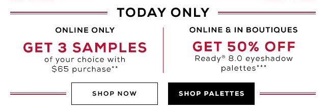 Receive a free 3-piece bonus gift with your $65 bareMinerals purchase