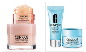 Receive your choice of 9-piece bonus gift with your $55 Clinique purchase