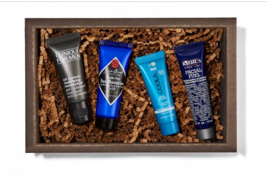 Receive a free 4-piece bonus gift with your $50 of full size products in the Birchbox Man Shop purchase