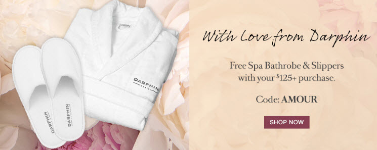 Receive a free 3- piece bonus gift with your $125 Darphin purchase