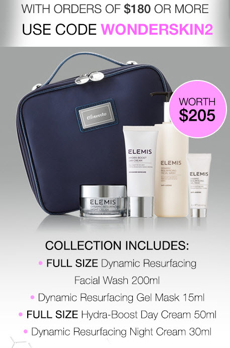 Receive a free 4-piece bonus gift with your $180 Multi-Brand purchase