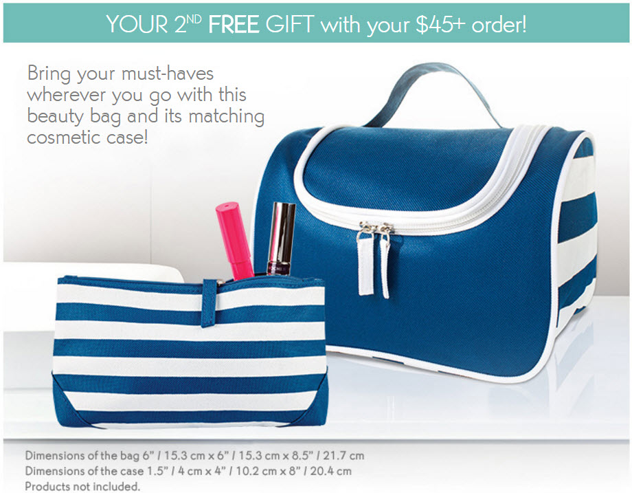 Receive a free 3-piece bonus gift with your $45 Yves Rocher purchase