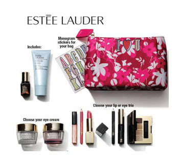 Boscov's Free Bonus Gift with Purchase Offers from Estée Lauder