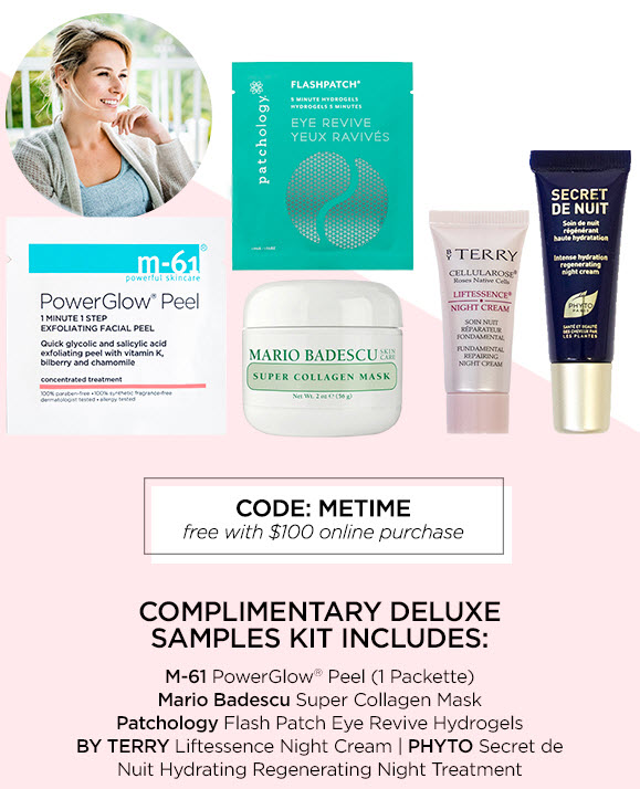 Receive a free 5-piece bonus gift with your $100 Multi-Brand purchase