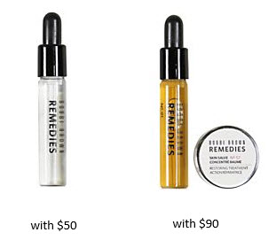 Receive a free 3-piece bonus gift with your $90 Bobbi Brown purchase