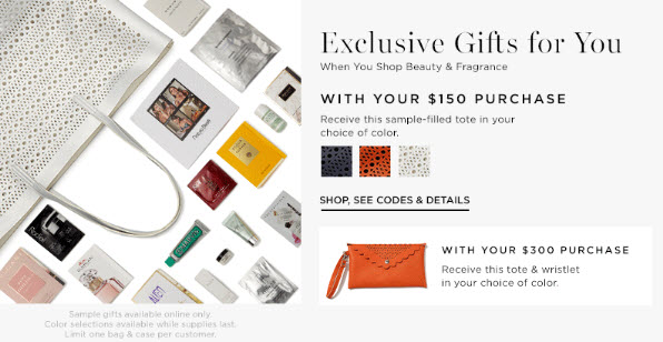 Receive a free 10-piece bonus gift with your $150 Multi-Brand purchase