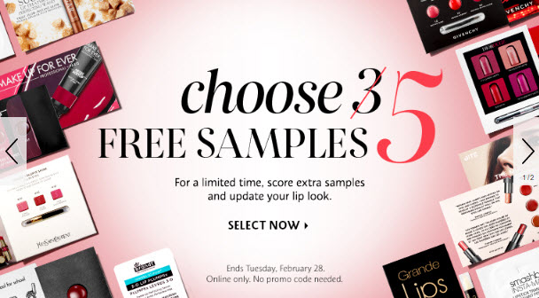 Receive your choice of 5-piece bonus gift with your $25 Multi-Brand purchase