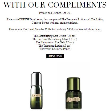 La Mer 7-pc Free Gift with Purchase - MakeupBonuses.com