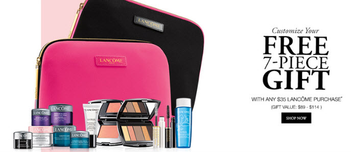 Bon-Ton Free GWP Offers from Lancôme - MakeupBonuses.com