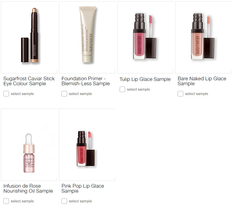 Receive your choice of 4-piece bonus gift with your $75 Laura Mercier purchase