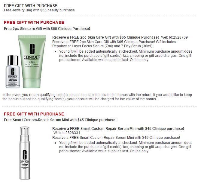 Macy's Free Bonus Gift w Purchase Offers - MakeupBonuses.com