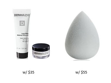 Receive a free 3-piece bonus gift with your $55 Dermablend purchase