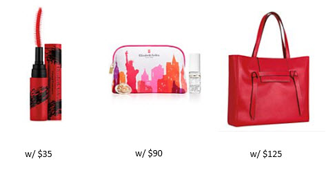 Receive a free 4-piece bonus gift with your $125 Elizabeth Arden purchase
