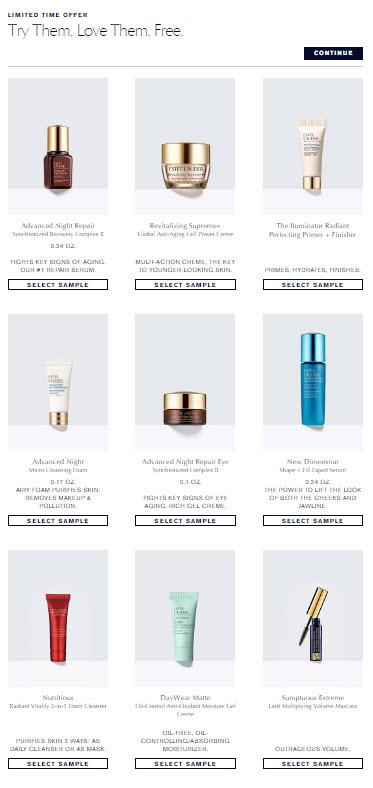 Receive your choice of 4-piece bonus gift with your $50 Estée Lauder purchase