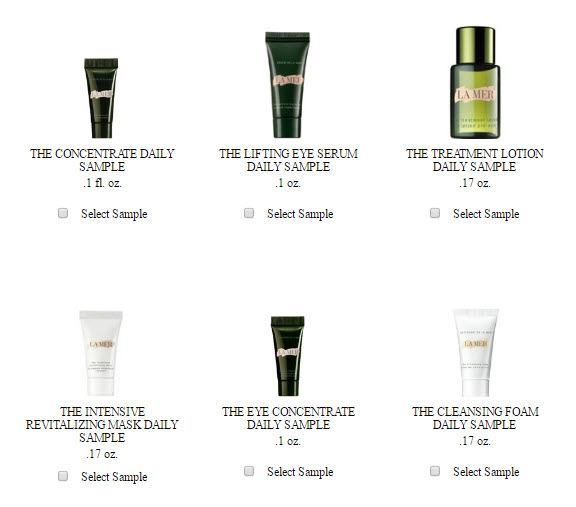 Receive your choice of 6-piece bonus gift with your $300 La Mer purchase