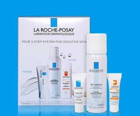 Receive a free 3-piece bonus gift with your $45 La Roche-Posay purchase