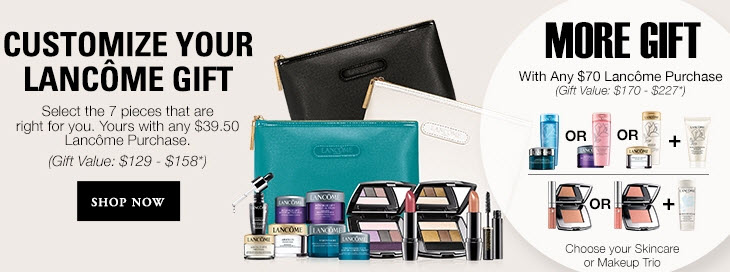 Look Ravishing with Premium Lancome Cosmetics. Discover a range of premium Lancome products in this large selection from HSN. Indulge in these popular beauty supplies, including rejuvenating face treatments, vibrant lipstick shades, glamorous mascara, effective, yet gentle cleansers, and much more.