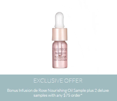 Receive a free 3-piece bonus gift with your $75 Laura Mercier purchase