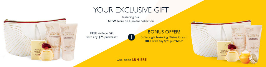 L'Occitane Free Bonus Gift with Purchase - MakeupBonuses.com