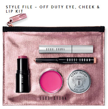 bobbi brown Style File - Off Duty Eye, Cheek & Lip Kit