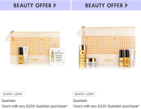 Receive a free 10-piece bonus gift with your $225 Guerlain purchase