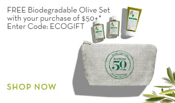 Receive a free 4-piece bonus gift with your $50 Klorane purchase