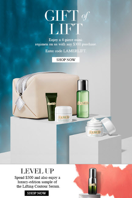 La Mer Free Gift with Purchase Promos - MakeupBonuses.com