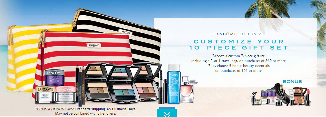 Lancôme Free Gift with Purchase Offers - MakeupBonuses.com