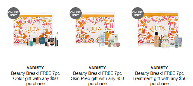 Receive your choice of 7-piece bonus gift with your $50 Multi-Brand purchase