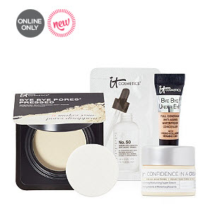 Receive a free 4-piece bonus gift with your $50 Multi-Brand purchase