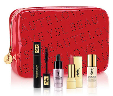 Receive a free 5-piece bonus gift with your $175 Yves Saint Laurent purchase