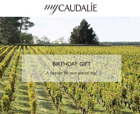 Caudalie free birthday gift MakeupBonuses.com
