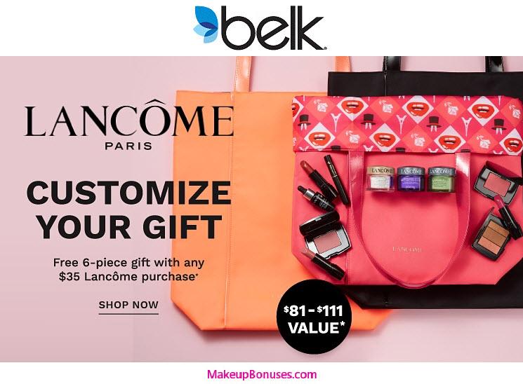 Lancôme 6-piece Free Gift with Purchase - MakeupBonuses.com