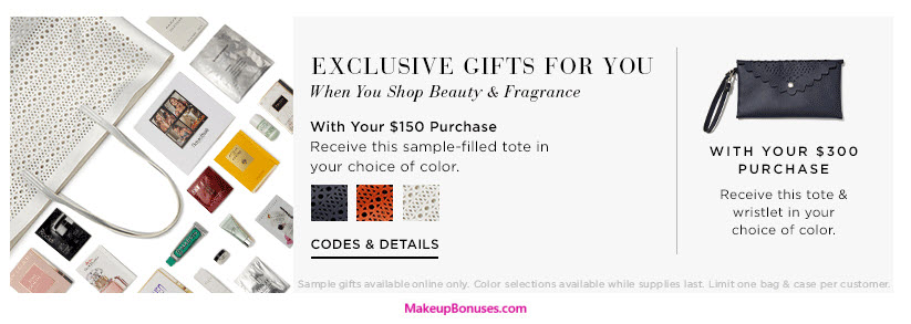 Receive your choice of 16-piece bonus gift with your $300 Multi-Brand purchase