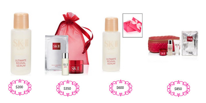 Receive a free 5-piece bonus gift with your $350 SK-II purchase