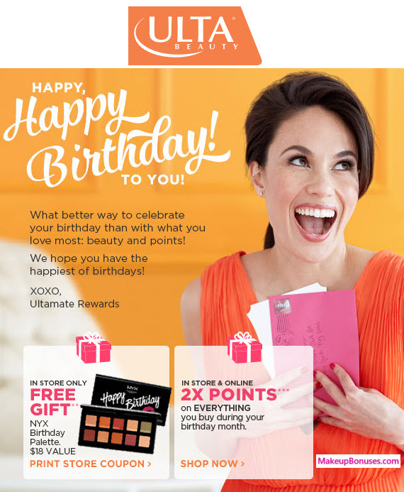 Free Birthday Gifts on Makeup & Skincare - MakeupBonuses.com