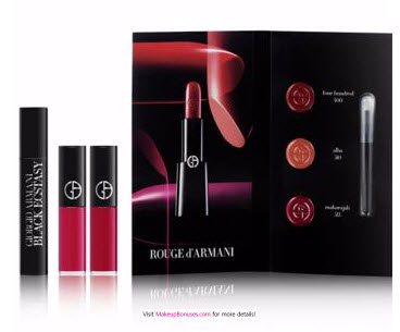 Receive a free 3-piece bonus gift with your $150 Giorgio Armani purchase
