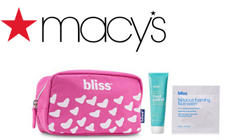 Receive a free 3-piece bonus gift with your $50 Bliss purchase