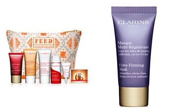 Receive a free 8-piece bonus gift with your $99 Clarins purchase