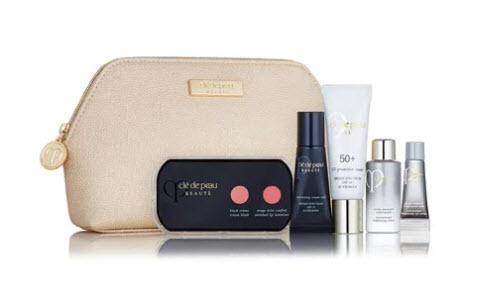 Receive a free 5-piece bonus gift with your $350 Clé de Peau Beauté purchase