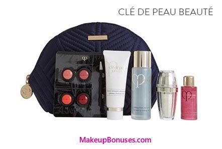 Receive a free 6-piece bonus gift with your $350 Clé de Peau Beauté purchase