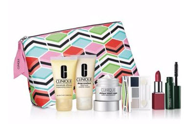 Receive a free 7-piece bonus gift with your $50 Clinique purchase