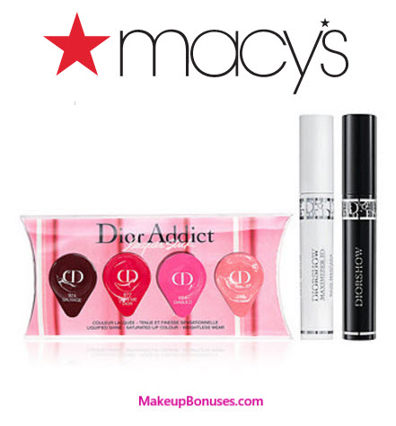 Dior Beauty 3-pc Free Gift with Purchase - MakeupBonuses.com