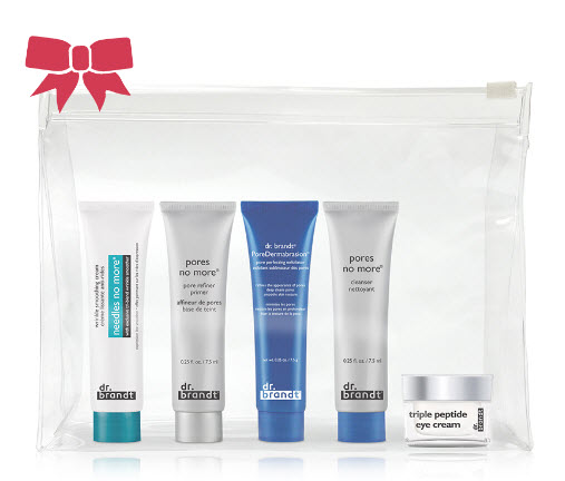 Receive a free 5-piece bonus gift with your $85 Dr Brandt purchase