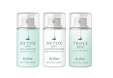 Receive a free 3-piece bonus gift with your $35 drybar purchase