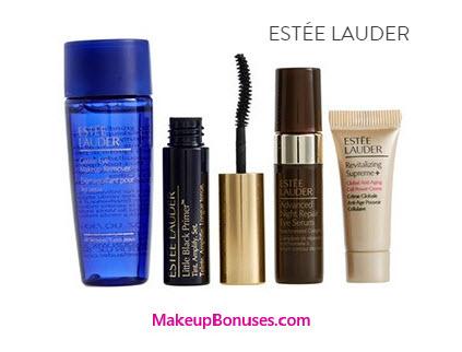 Receive a free 4-piece bonus gift with your $35 Estée Lauder purchase