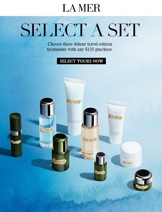 La Mer 3pc Free Bonus Gift with Purchase - MakeupBonuses.com