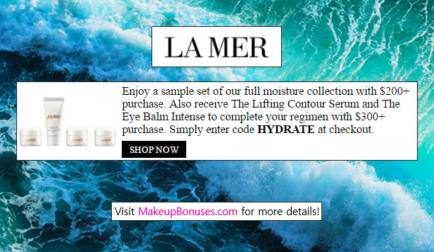 Discounts average $23 off with a La Mer Collections Watches promo code or coupon. 45 La Mer Collections Watches coupons now on RetailMeNot.