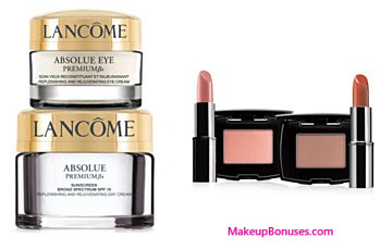 Receive a free 4-piece bonus gift with your $75 Lancôme purchase