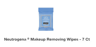 Neutrogena 7-piece Free Bonus Gift with select Neutrogena foundation product Purchase at Target